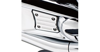 Engine Cover Trim, Chrome