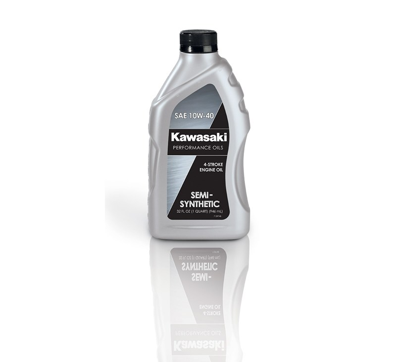 Kawasaki Performance 4-Stroke Semi-Synthetic Oil, Quart, 10W-40 detail photo 1