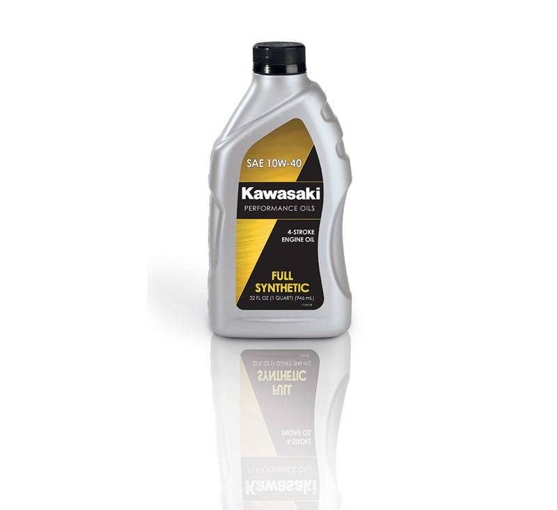 Kawasaki Performance 4-Stroke Full Synthetic Oil, Quart, 10W-40 detail photo 1