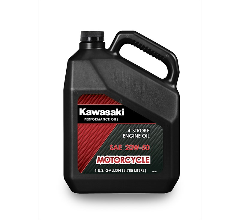 Kawasaki Performance 4-Stroke Engine Oil, Gallon, 20W-50 detail photo 1