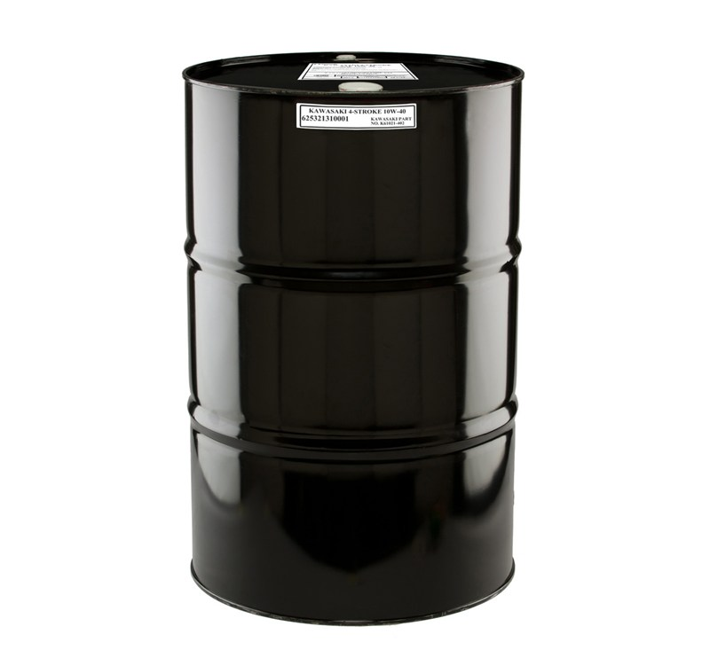 Kawasaki Performance 4-Stroke Engine Oil, 55 Gallon Drum, 10W-40 detail photo 1