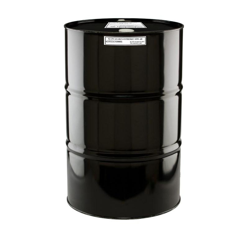 Kawasaki Performance 4-Stroke Engine Oil, 55 Gallon Drum, 10W-30 detail photo 1