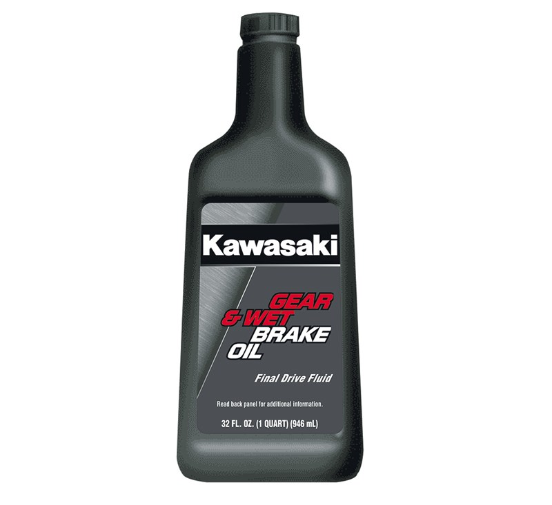 Kawasaki Gear & Wet Brake Oil, 1 Quart detail photo 1