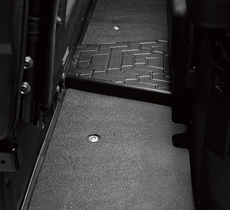 Rear Floor Mat Set detail photo 1