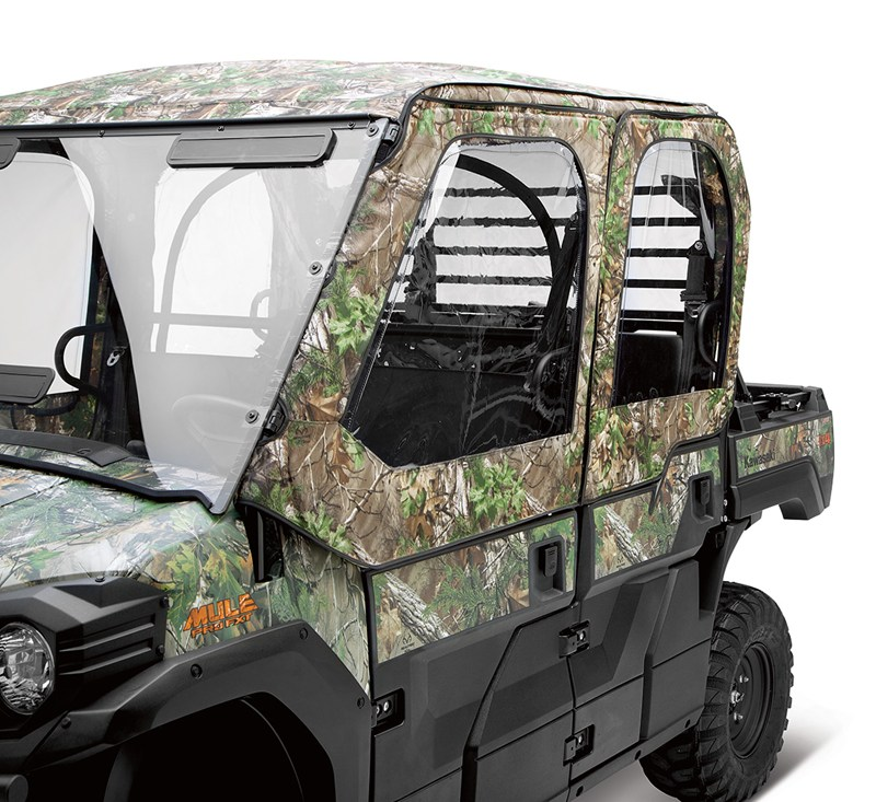 Soft Cab Enclosure, Roof and Back, Realtree® Xtra® Green detail photo 2
