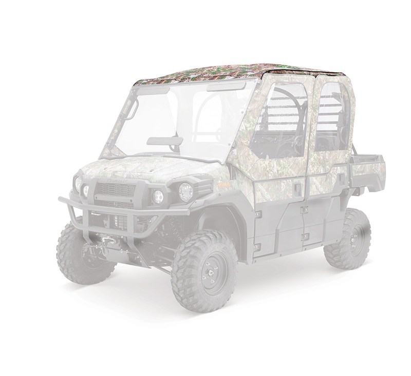 Soft Cab Enclosure, Roof and Back, Realtree® Xtra® Green detail photo 3