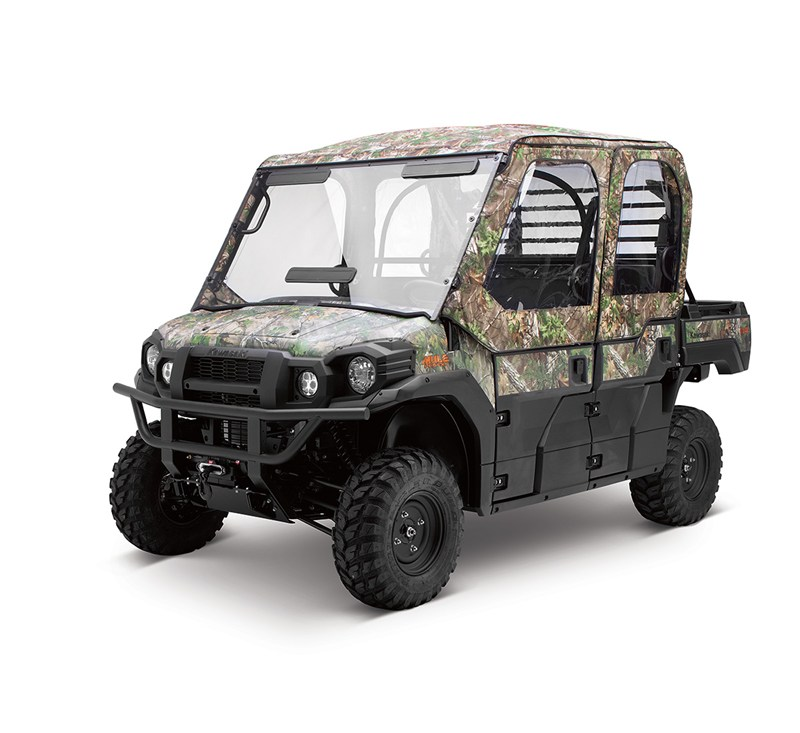 Soft Cab Enclosure, Roof and Back, Realtree® Xtra® Green detail photo 1