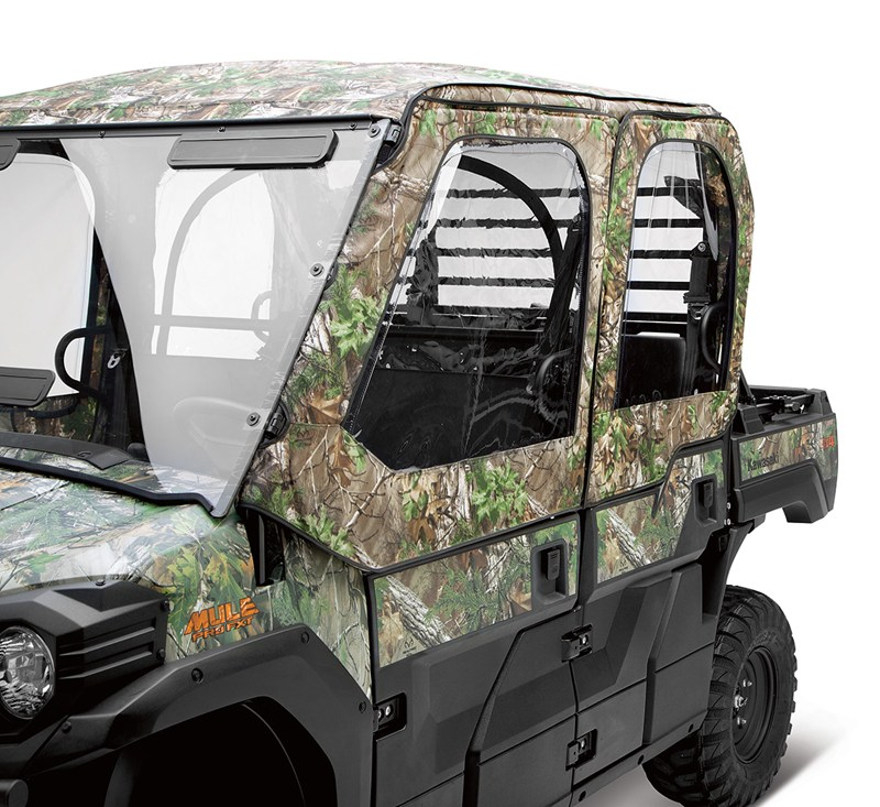 Soft Cab Enclosure, Soft Door Set, Realtree® Xtra® Green detail photo 2