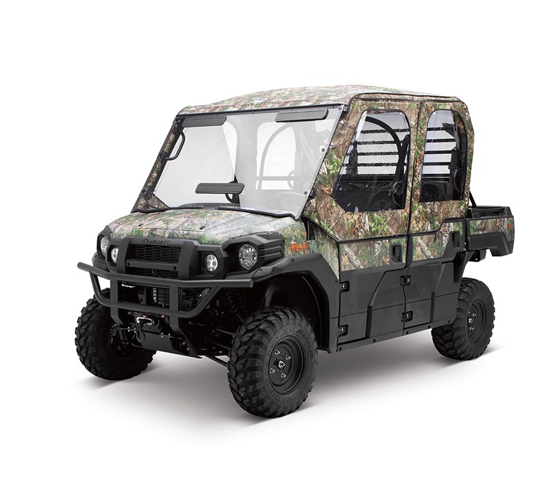 Soft Cab Enclosure, Soft Door Set, Realtree® Xtra® Green detail photo 1