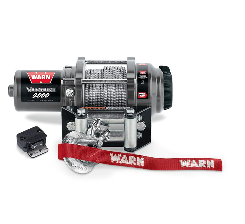 WARN® Vantage™ 2000 Winch detail photo 1
