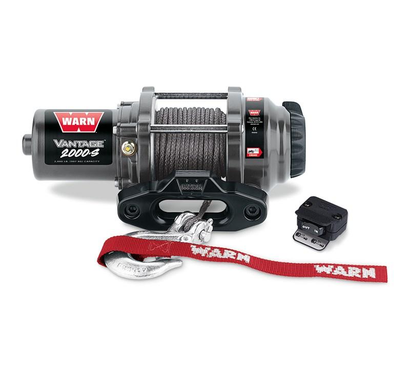 WARN® Vantage™ 2000S Winch detail photo 1