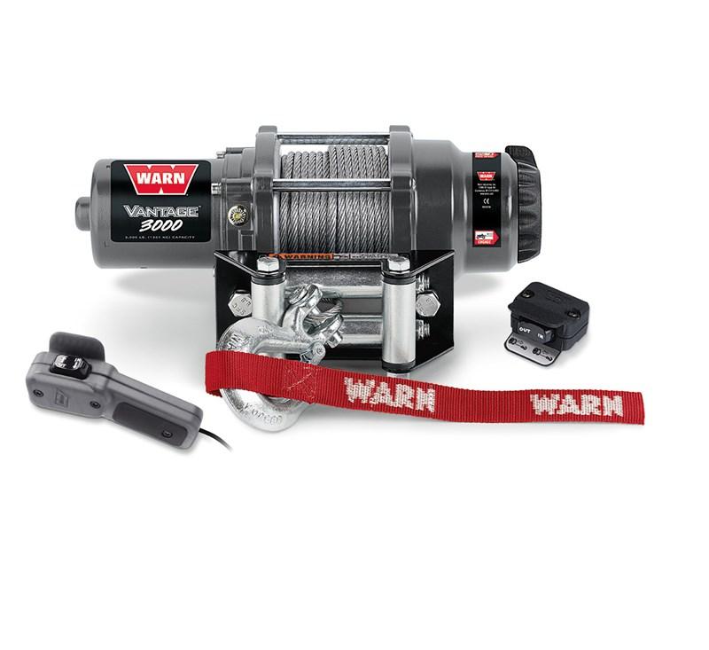WARN® Vantage™ 3000 Winch detail photo 1