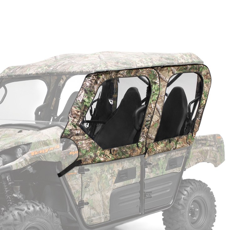 Soft Cab Enclosure, Door Set, Realtree® Xtra® Green detail photo 1