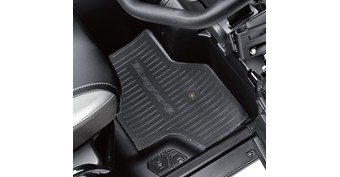 Rear Floor Mat Set