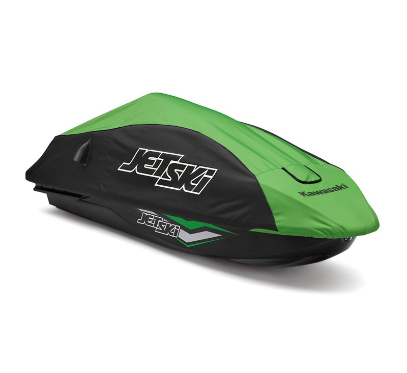 Vacu-Hold Jet Ski® SX-R™ Cover, Green/Black detail photo 1